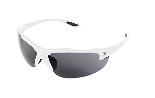 High Balance Fly - Sport Reader Sunglasses - White - Magnification With Sunglasses Sports