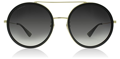 Gucci 0061S 001 Gold 0061S Round Sunglasses Lens Category 3 Size - 2017 Sunglasses Men Gucci
