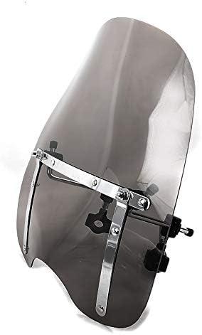 Windschild CW1 f/ür Hyosung GV 250//i// 650//i// 700 C dunkel get/önt