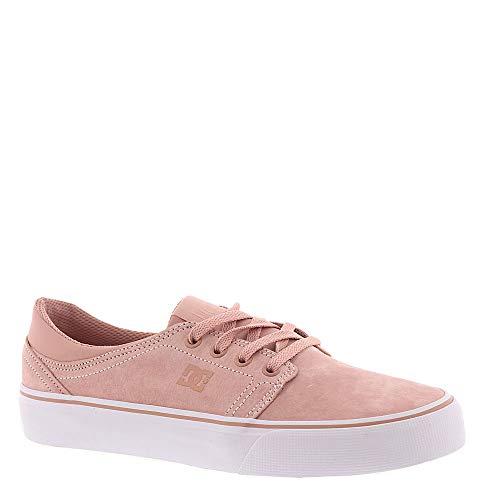 DC Women's Trase LE Skate Shoe, Peach Parfait, 7 Medium US