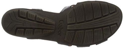 Gabor Eartha, Women's Sandals Black (Black Leather)