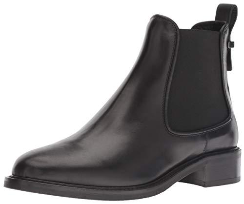 Women''s Calf Belle Chelsea Boot Black Aquatalia Elastic OASdxBwAq