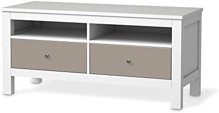 Muebles-pegatinas IKEA Hemnes TV-Banco 2 cajones/color 5 color ...