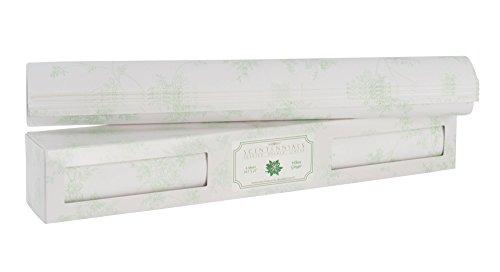 Twelve Drawer Dresser - Scentennials Original Series WHITE GINGER Scented Fragrant Shelf & Drawer Liners 16.5