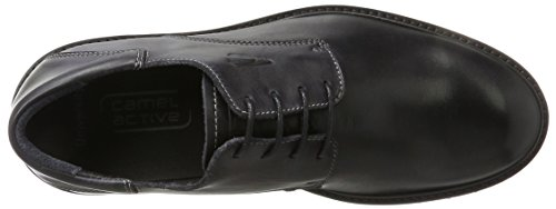 camel active Herren University 11 Derbys Schwarz (Black)