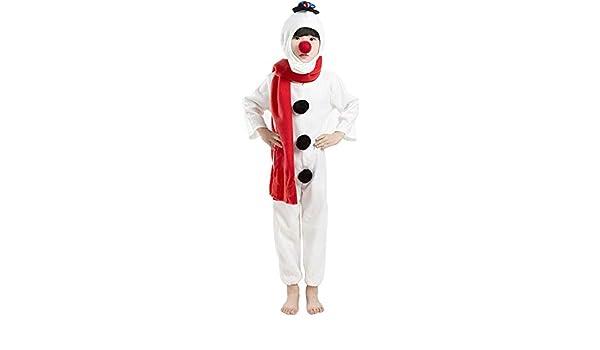 Disfraz de muneco de Nieve para ninos Navidad para ninos Traje de ...