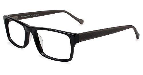 LUCKY BRAND Eyeglasses DIVE Black - Brand Eyeglasses