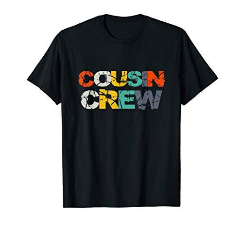 Cousin Crew T-Shirt Kids Women Men Girl Funny (Best Cousin T Shirts)