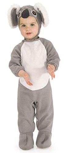 Rubie's Kid's Koala Costume Baby Costume, gray, Newborn