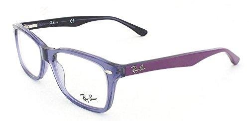ray-ban - 5228 501450 (50 Mm) - Lunettes De Soleil Femme 5230: Transparent Violet