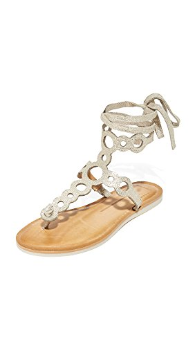 Light Women's Dolce Vita Flat Gold Sandals Jorell qfFnS1wnO
