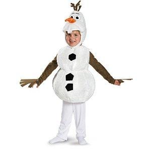 - Olaf Deluxe Costume - Toddler Medium