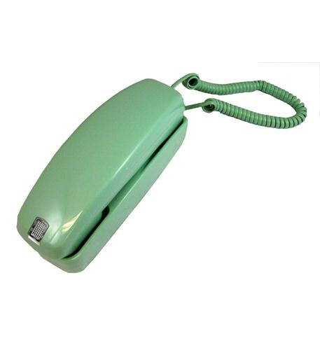 Trimline Corded Telephone GO-5303LM Trimstyle Green by Golden Eagle (Corded Telephone Green)