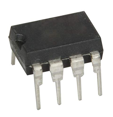 Microchip PIC12F629-I/P PIC Microcontroller, 8-Bit, 1.75KB Flash, 2.5 Volt, 3.3 Volt, 5 Volt, 6.5 mm W x 3.3 mm H x 9.27 mm L (Pack of 5)