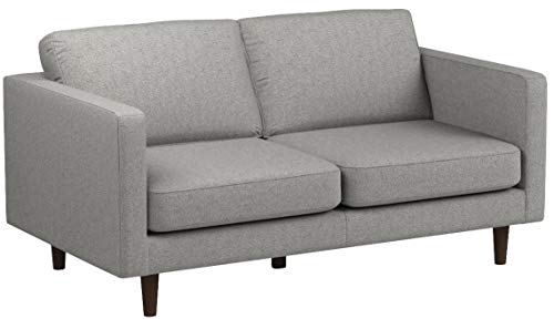 Rivet Revolve Modern Sofa Bed, 70″W, Grey Weave - 6