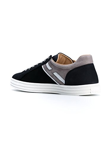 Hogan Rebel Sneakers Uomo HXM1410O201FN83673 Pelle Blu