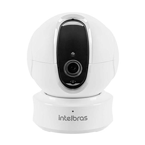 Câmera de Segurança Intelbras Wi-Fi Ic4, Intelbras, Mibo, Branca, Único