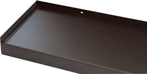 Ohne Seitenteile Fensterbank 1300 mm Lang Fensterbrett 110 mm Tief Anthrazit
