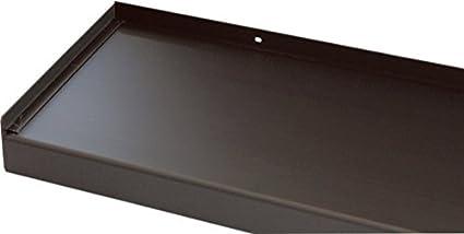 Fensterbank Klinker Seitenteile 260 mm in Silber