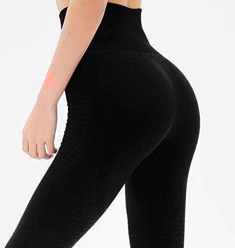 Dutte Dutta Women's Yoga Pants High Waist Tummy Control Workout Leggings