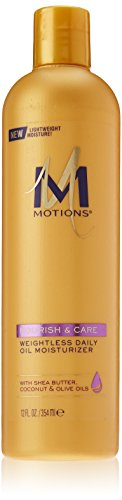 Motions Hair Lotion (Motions Weightless Daily Oil Moisturizer, 12 Ounce)