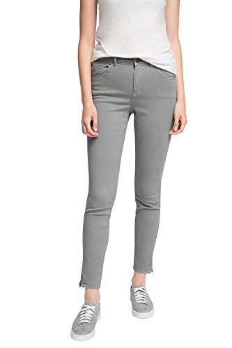 edc by Esprit 066cc1b016, Pantalones para Mujer Gris (GUNMETAL 015)