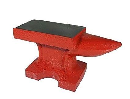 Incudine in ghisa con base e piano in ferro per officina fabbro ...