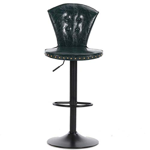 Bright European Bar Stool Lift Rotating Bar Chair Cash Register High Stool Home Beauty Front Back Stool Bar Chairs Furniture
