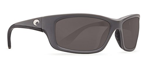 Costa Del Mar Jose Sunglass, Matte Gray, Gray 580 - Jose Costa Mar 580 Del