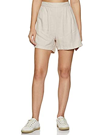 Honey by Pantaloons Women's Regular Fit Cotton Shorts