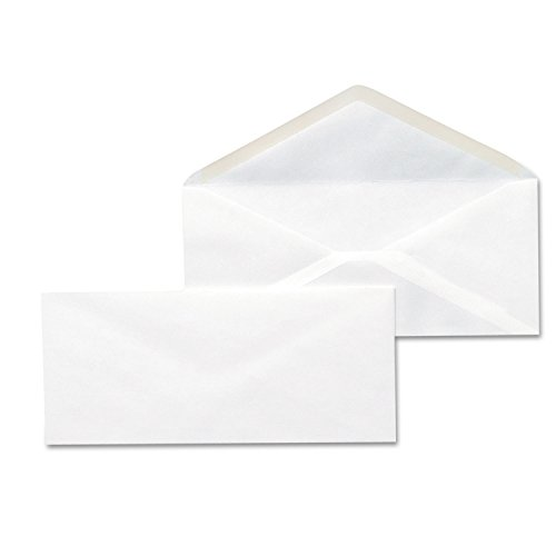 Universal 35210 Business Envelope, 10, 4 1/8 x 9 1/2, White, 500/Box ()
