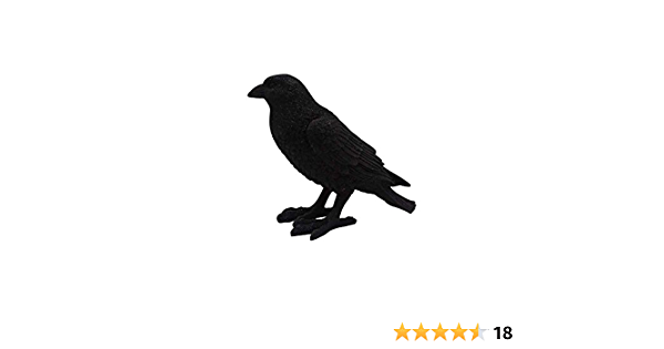 "CafePress Starlight Crow Decor Throw Pillow 18/""x18/"" 932820722"