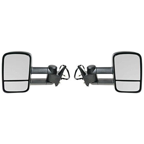 Chevrolet Gmc C K 1500 2500 3500 Truck 88 - 98 Tow Power Mirror Left Right Set (92 93 Chevy C/k Truck)