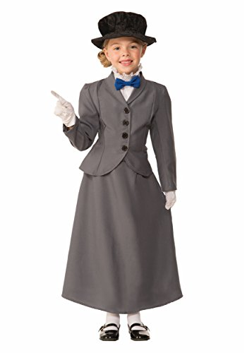 Kids English Nanny Costume
