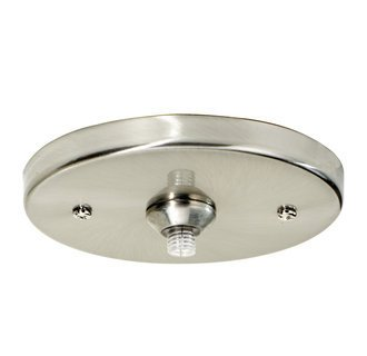 120v Line Voltage Round Canopy (Tech Lighting 700FJ4RFS, Freejack, 4