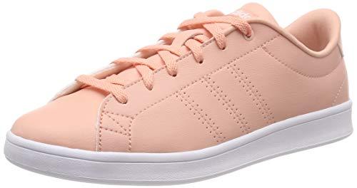 Buy Adidas Women's Advantage Clean Qt Duspnk/Ftwwht Tennis ...
