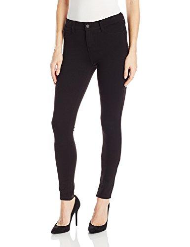 Celebrity Pink Jeans Women's Power Ponte Mid Rise Super Skinny, Black, (Pink Pocket Jeans)