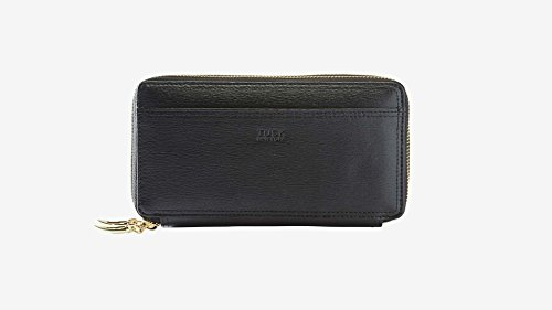 tusk-womens-madison-double-zip-clutch-black