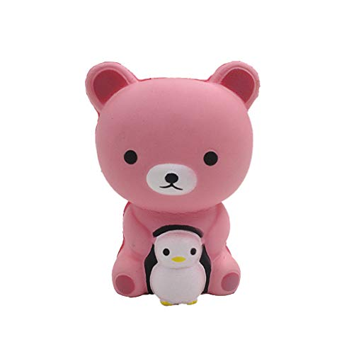 (Onefa Squeeze Stress Toys-Onefa Mini Adorable Bear Rising Kids Fun Reliever Toy Gift Stress Reliever Scented Super Slow Squeeze Toys Stress Relief Kawaii Toys for Kids and Adults)