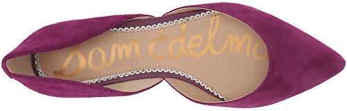 Women's Rodney Plum Sam Ballet Edelman Purple Flat 65OqHT