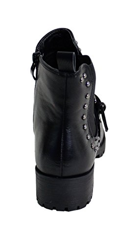 para By Mujer Botas Shoes Negro wXTrXq