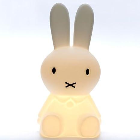 Lámpara Infantil Conejo XL, 80 cm, lámpara de pie, Luz ...