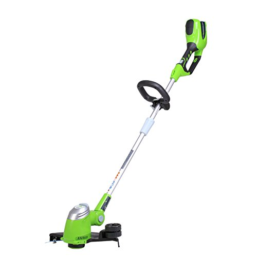 Greenworks 13-Inch 40V Cordless String trimmer, Battery Not Included 21332 (Renewed)