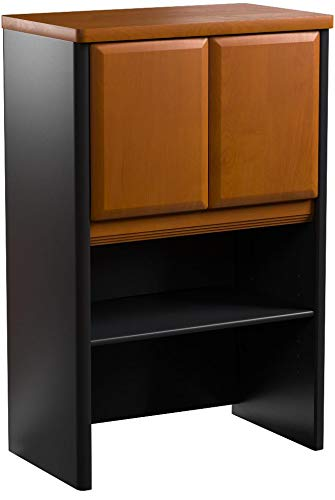 Bush Business Furniture Series A Collection 24W Hutch in Natural Cherry by Bush Business Furniture (Image #6)