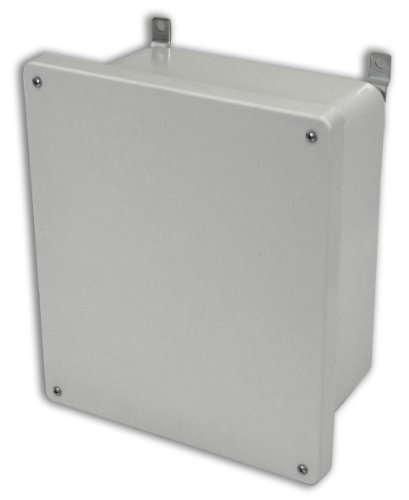 - Allied Moulded AM1206 AM Series Fiberglass JIC Size Junction Box, Lift-Off Screw Cover