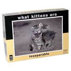 What Kittens Are - Inseparable Jigsaw Puzzle: 500 Pcs by Bepuzzled ...