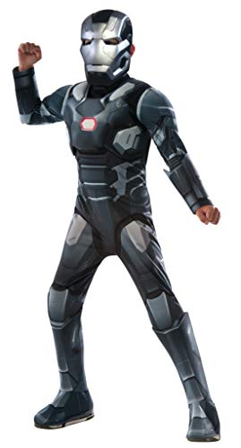 Rubie's Costume Captain America: Civil War - War Machine Deluxe Muscle Chest Child Costume, Large -