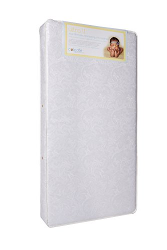"Colgate Ultra II Crib and Toddler Innerspring Mattress | 51.6""L x 27.2""W x 6""H 