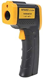 Infrared Thermometer, Digital Non-Contact Instant Read Temperature Gun -58°F ~ 716°F(-50??380?) Emissivity 0.1-1.0, Laser Point IR Thermometer with LED Backlight