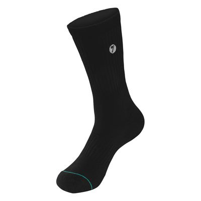 Seven Brand Crew Socks Size 5 8 Black